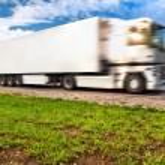 Truck transportation — Stock Photo