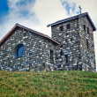 Church on mountain — Stock Photo