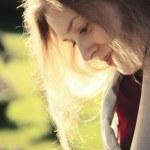 ung kvinna porträtt — Stockfoto #3728227