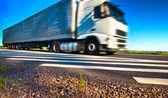 Truck transportation — Fotografia Stock