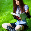 Young schoolgirl — Stock Photo