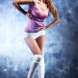 Young fitness woman — Stock Photo #3739083