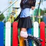 Young schoolgirl — Stock Photo #3739112