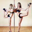 Two young sexy women — Stock Photo