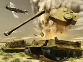 Tanks — Foto Stock