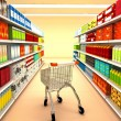 Stock Photo: Supermarket