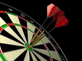 Darts game — Stock Photo