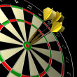 Darts game — Stockfoto
