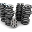 Royalty-Free Stock Photo: Movie Film Reel