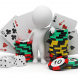 3d small - casino — Stock Photo