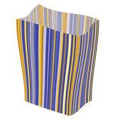 Empty striped — Stock Vector
