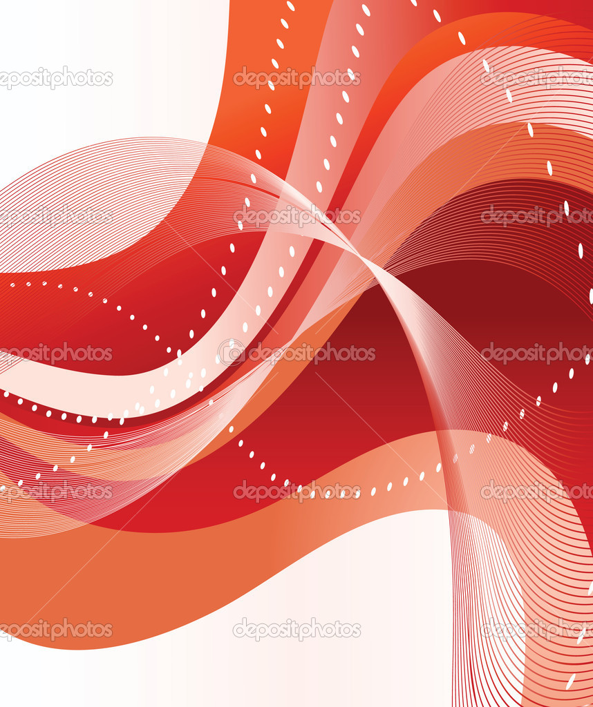 Abstract red background. Vector illustration — Imagen vectorial #2800616
