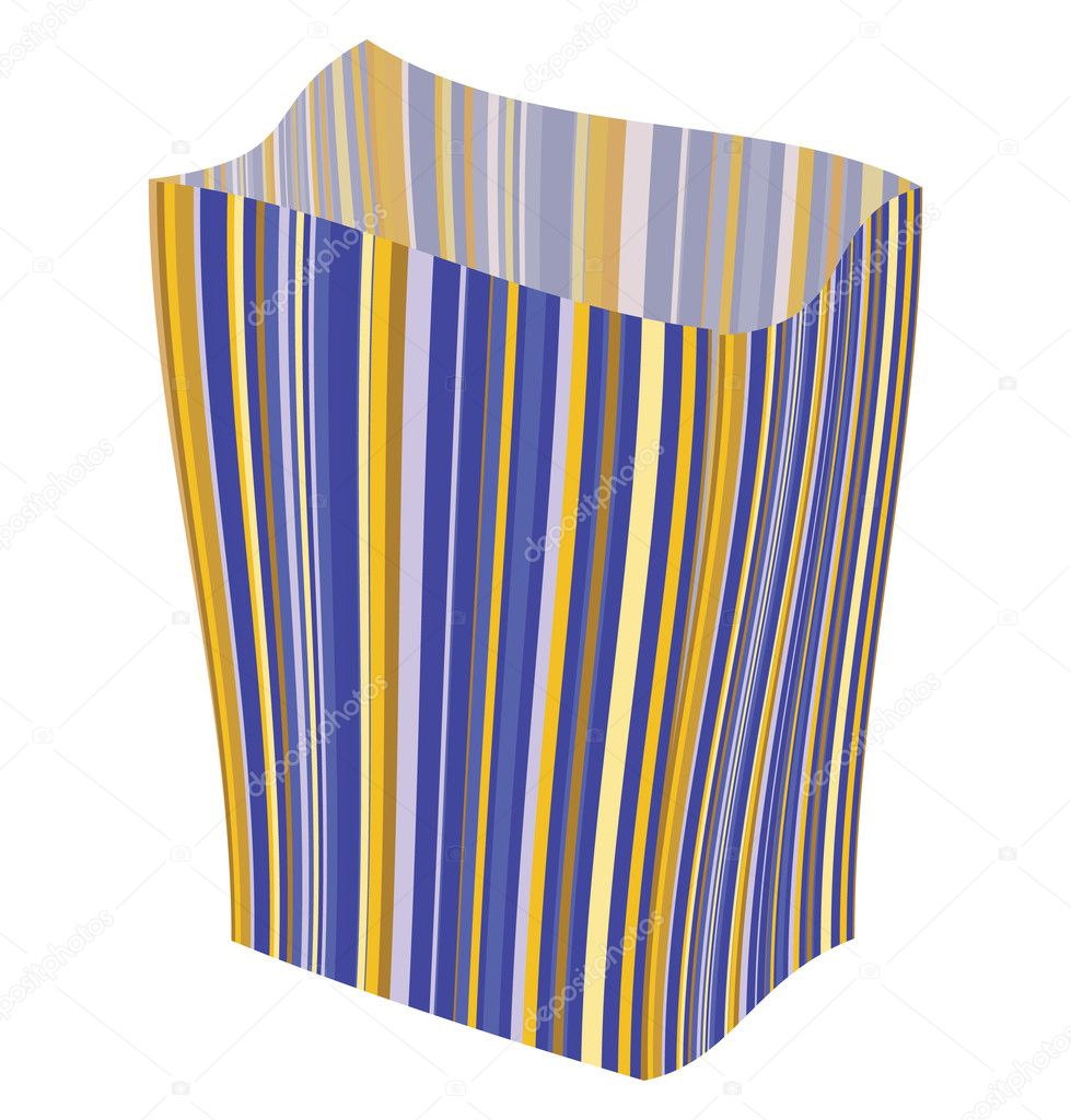 Empty striped  — Stockvectorbeeld #2800878