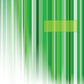 Abstract background with vertical green lines — Stock Vector