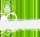 Stylish green banner. Vector illustration — Stock Vector