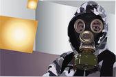 Gas-mask — Stock Photo