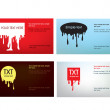 Visit card — Vector de stock #3148078