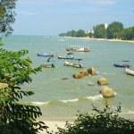 Batu Ferringhi Beach, Penang, Malaysia — Stock Photo