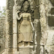 Bas-relief with Apsara, Angkor Wat — Stock Photo #2844036