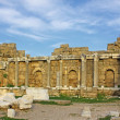 Ruins of ancient roman temple in Side — Stock Photo