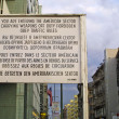 US Army CheckPoint Charlie in Berlin — Stock Photo