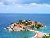 Sveti Stefan island, Montenegro — Stock Photo