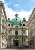 St. Peter's Church, Vienna — Stock Photo