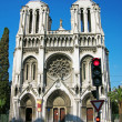 BasilicNotre-Dame, Nice, France — Stock Photo #3506241