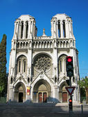 Basilica Notre-Dame, Nice, France — Stock Photo