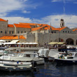 Old port of Dubrovnik, Croatia — Stock Photo
