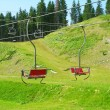 Stock Photo: Ski resort in summer, Carpathian mountains, Ukraine