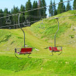 Ski resort in summer, Carpathian mountains, Ukraine — Stock Photo