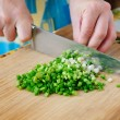 Royalty-Free Stock Photo: Salad preparation