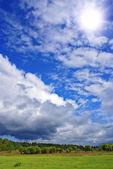 Summer landscape — 图库照片