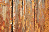 Obsolete painted planks — Stock Photo