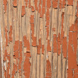Painted plank — Stockfoto