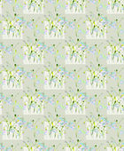 Spring flower seamless vector — Stock Vector