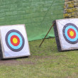 Two archery — Stock Photo