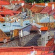 Old red roofs — Stock Photo