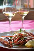 Italy. Liguria. Royal shrimps — Stock Photo
