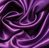 Smooth elegant lilac silk as background — Stock Photo