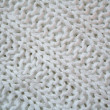 Royalty-Free Stock Photo: White knitted textured background