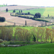 Italy. Tuscany landscape. - Stock Photo