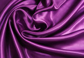 Smooth elegant lilac silk — Stock Photo