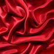 Stock Photo: Smooth elegant red silk