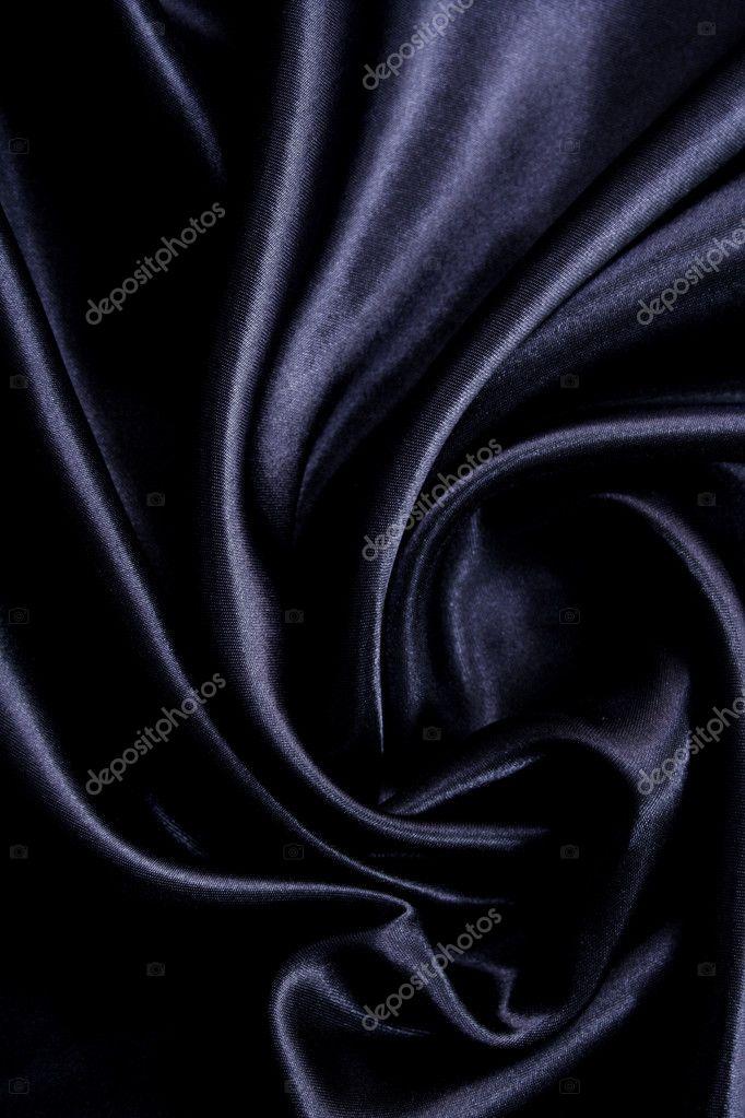 smooth elegant black silk - photo #23