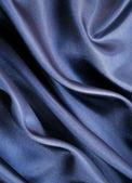 гладкий элегантный серый шелк как фон — Стоковое фото