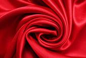 Smooth elegant red silk — Stock Photo