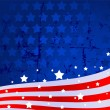 American flag background — Vector de stock