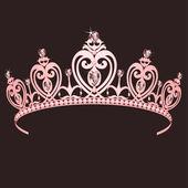 Prenses tacı — Stok Vektör